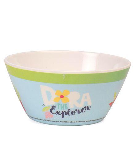 Dora Cone Bowl - Off White Blue