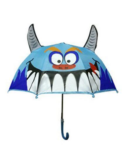 Superfie Shark Fish Printed Umbrella - Blue