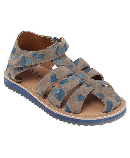 Aria Nica Army Sandals - Khaki