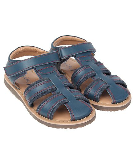 Aria Nica Henry Sandals - Navy Blue