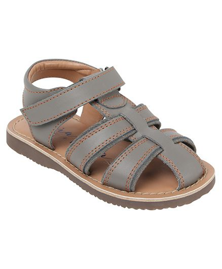 Aria+Nica Henry sandals - Grey (3-3.5 Years)
