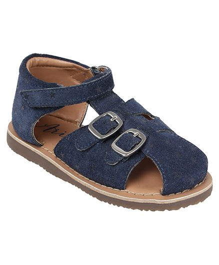 Aria Nica Knight Rider Sandals - Blue