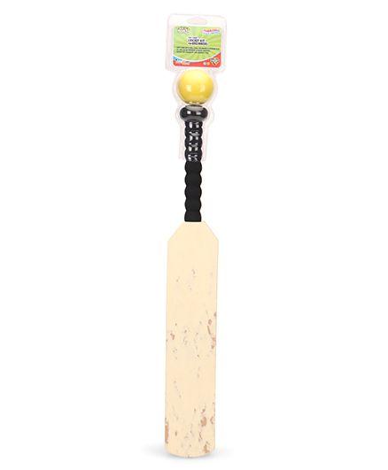 Imagician Playthings Thrillball Foam Cricket Bat Ball Set(Colours May Vary)