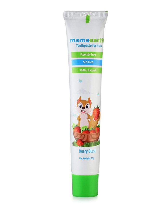 mamaearth Berry Blast Toothpaste - 50 gm