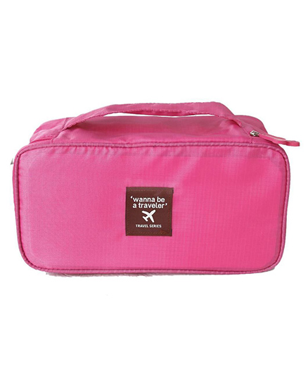 Home Union Travel Diaper Organizer Pouch - Pink
