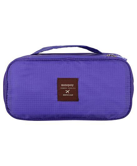 Home Union Travel Diaper Organizer Pouch - Purple
