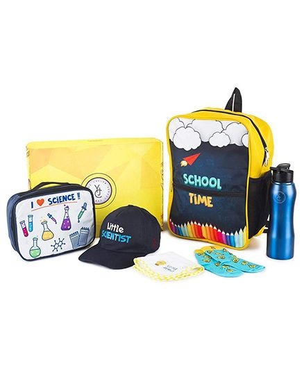 The Yellow Jersey Company School Kit of 6 Scientist Theme - Yellow