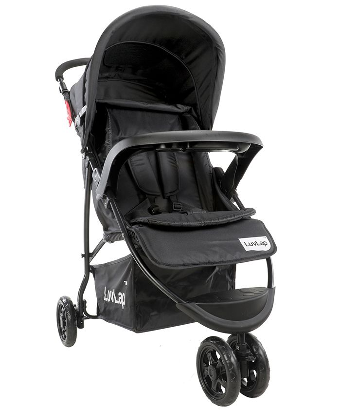 Luvlap Orbit Baby Stroller - Black