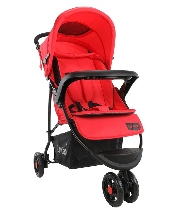 Luvlap Orbit Baby Stroller - Red