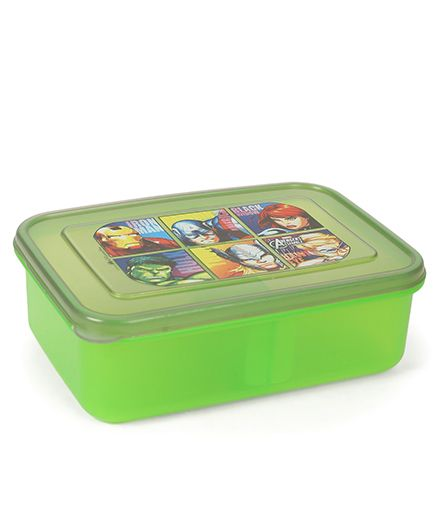 Marvel Avengers Lunch Box - Green