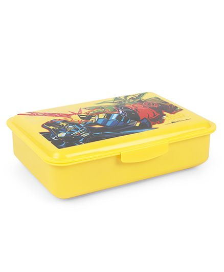 Marvel Star Wars Lunch Box With Spoon & Fork - Yellow