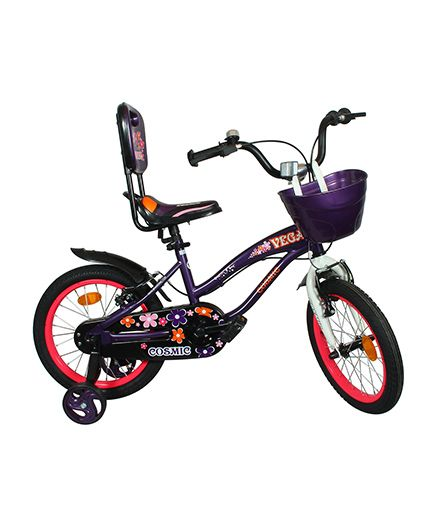 Cosmic Vega Kids Bicycle Purple - 16 Inch