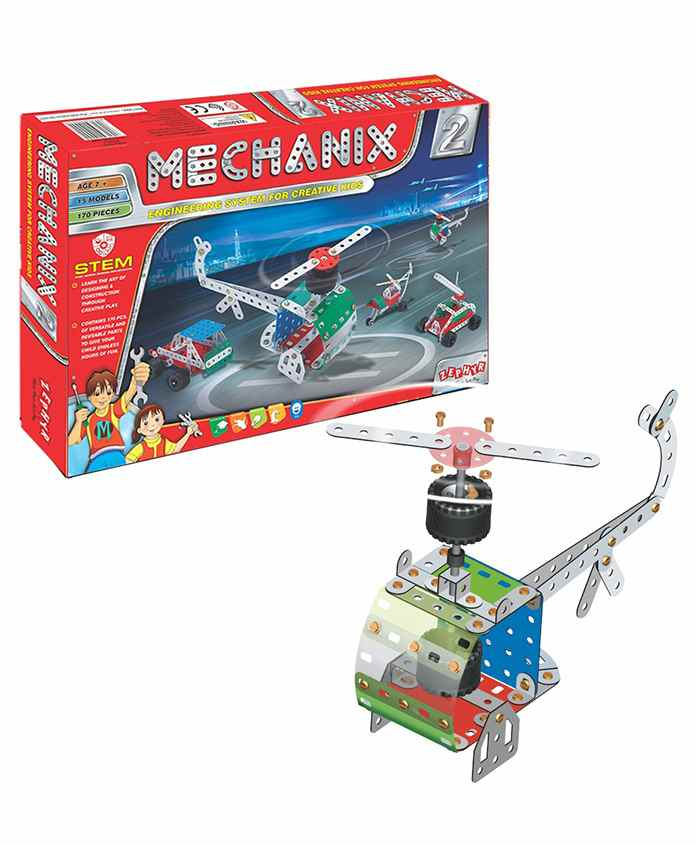 Mechanix 2 Engineering System For Creative Kids