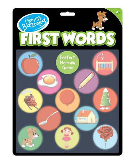 Pegasus Memory Bazooka First Words - 24 Pieces