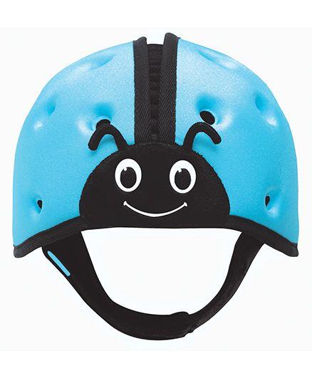 SafeheadBABY Soft Baby Helmet Lady Bird Design - Blue