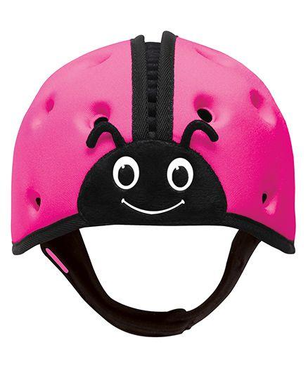 SafeheadBABY Soft Baby Helmet Lady Bird Design - Pink