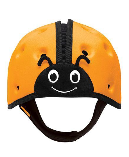 SafeheadBABY Soft Baby Helmet Lady Bird Design - Orange