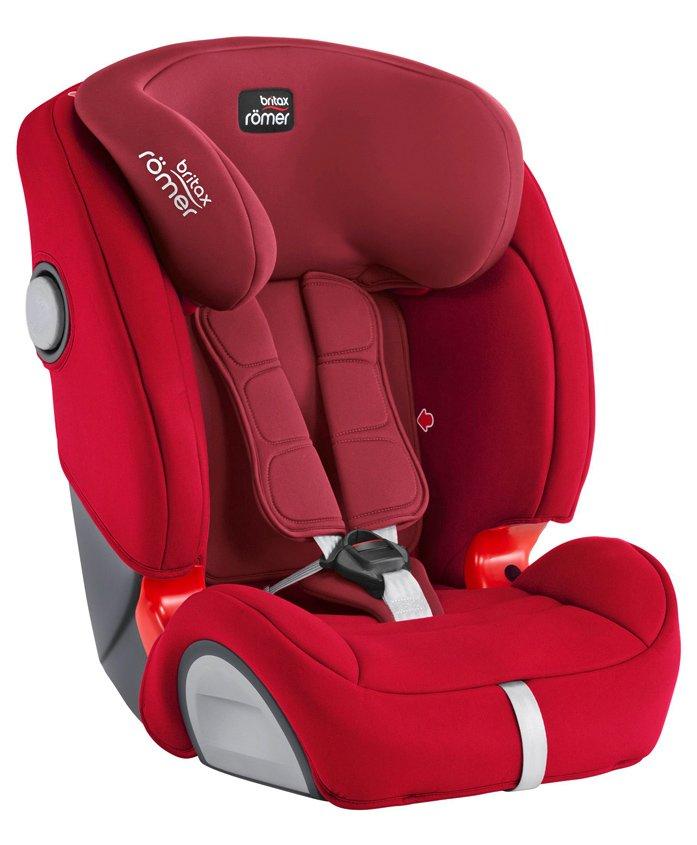 Britax Evolva 123 SL SICT Car Seat - Red