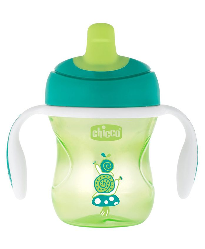 Chicco Training Cup With Semi Soft Spout - 200 ml (Colour May Vary)