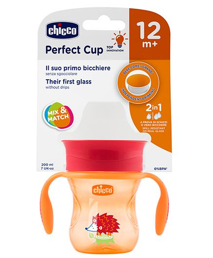 Chicco Spill Resistant Perfect Cup - 200 ml (Colour May Vary)