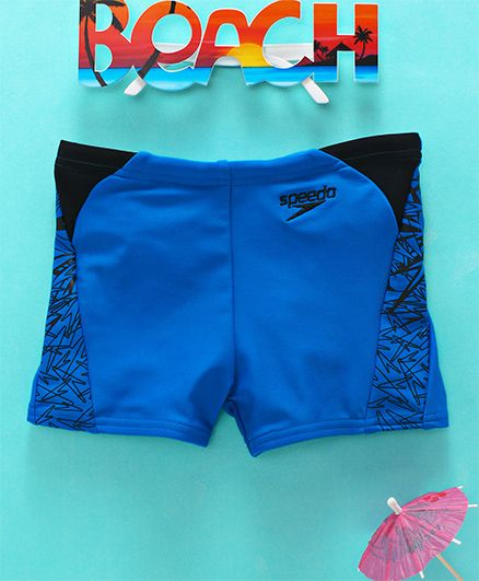 Speedo Printed Swimming Trunks - Blue
