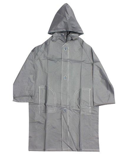 Minister - Plain Silver Raincoat