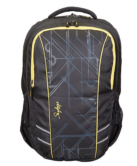 Skybags Footloose Gizmo 4 Laptop Backpack Black - 19 inches