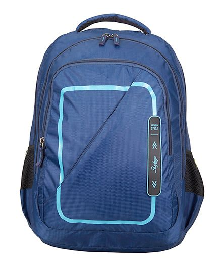 Skybags Footloose Gizmo 6 Laptop Bag Blue - Height 19 inches