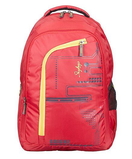 Skybags Footloose Router 3 Laptop Bag Red - Height 19 inches