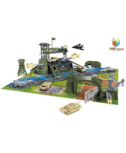 Toys Bhoomi Special Forces Military Base Play Set - Multicolour