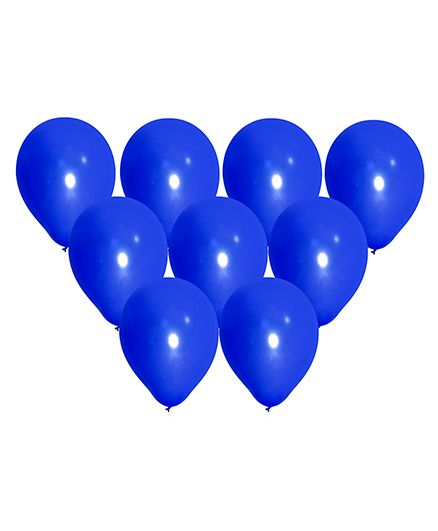 NHR Large Latex Balloons Blue - Pack of 50