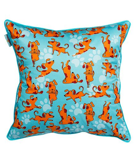 The Crazy Me Cushion Cover My Pet Print - Blue