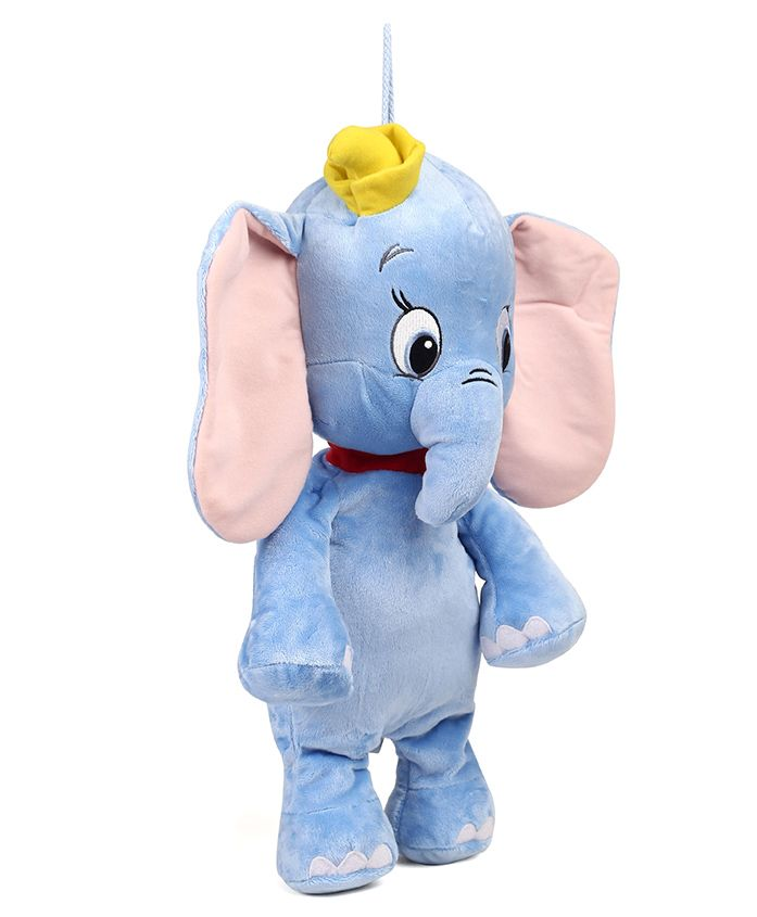 Starwalk Elephant Plush Soft Toy Blue - 35 cm