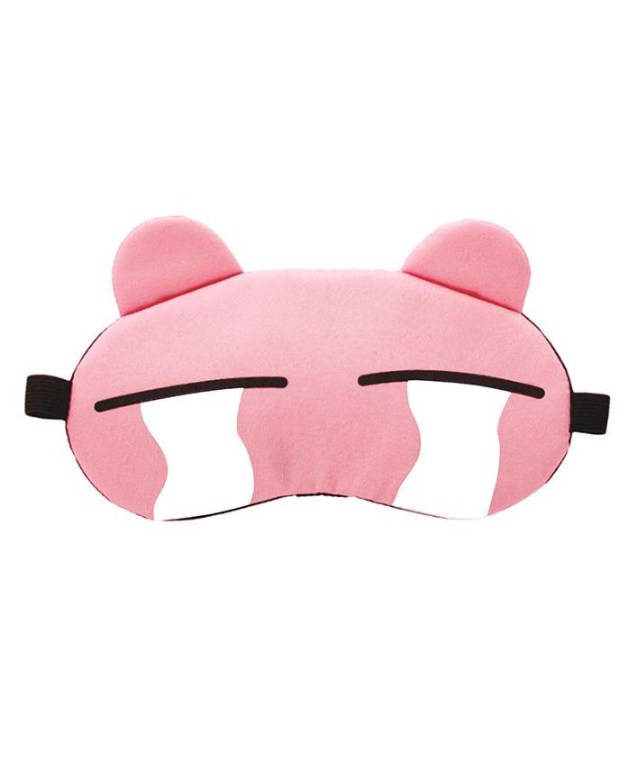 Syga Cartoon Gel Ice Sleep Adjustable Eye Mask - Pink