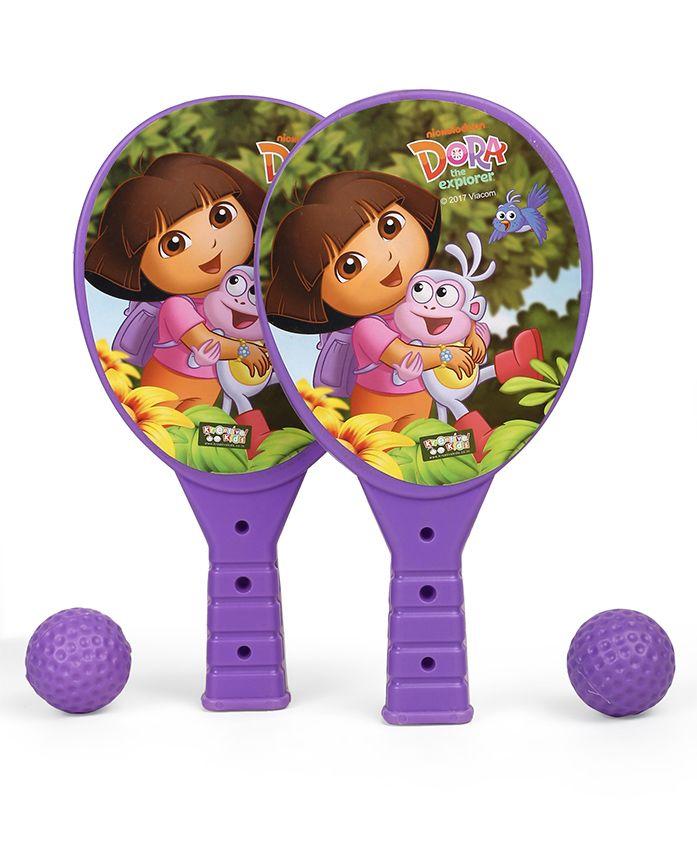 Dora Junior Racket Set (Color & Print May Vary)