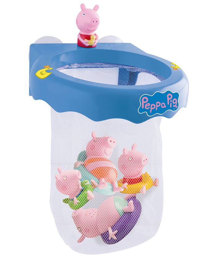 IMC Toys Fun Bath Organizer With Two Figures - Multicolor