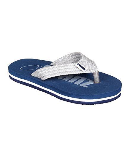 Beanz Bond Flip Flop - Blue & Grey