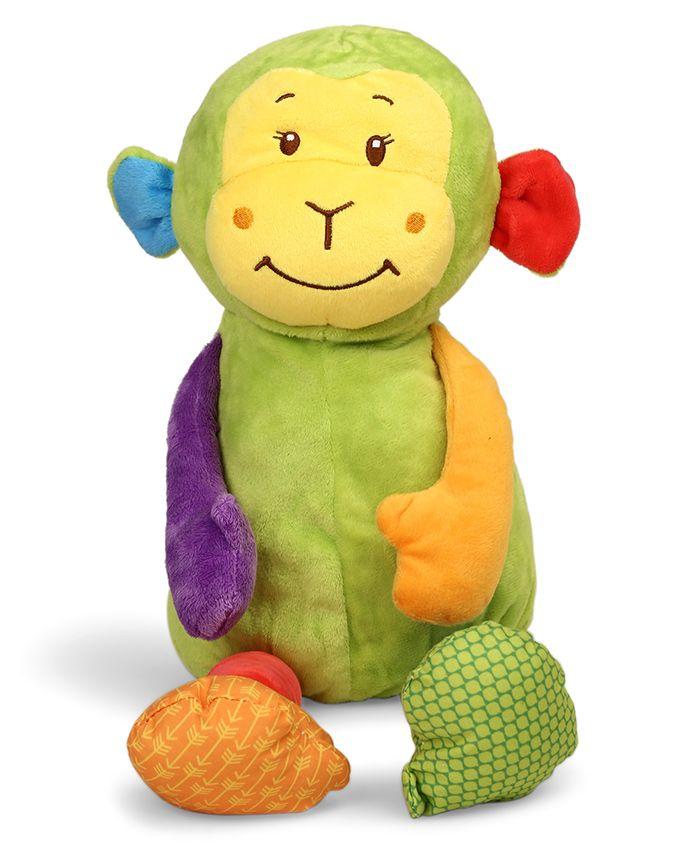 Starwalk Cute Monkey Plush Soft Toy Multicolor - Height 26 cm