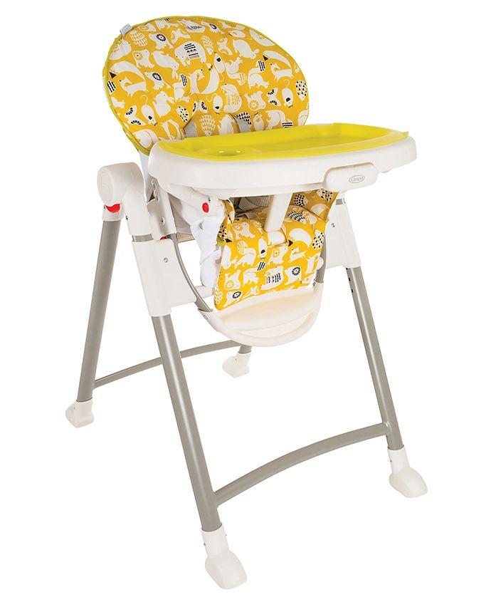 Graco Contempo High Chair Spring Print - Yellow