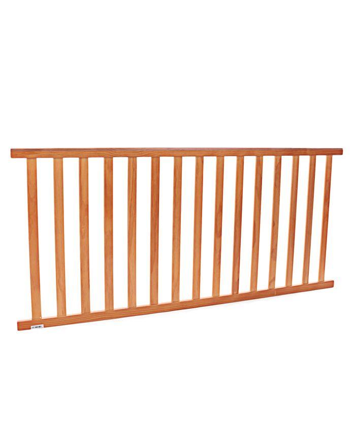 NUBF020 Side Railing (Large)- Natural For Baby Furniture