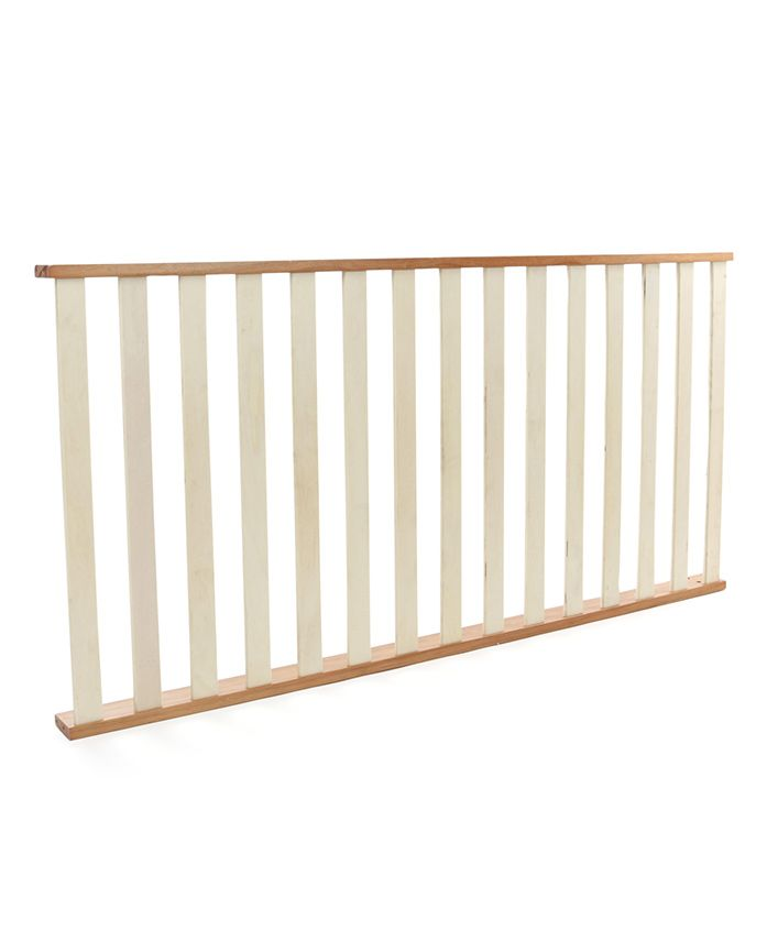NUBF020 Bed Railing - Natural For Baby Furniture