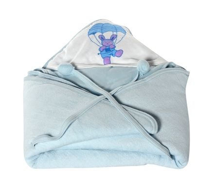 Tinycare - Hooded Towel Parachute Print