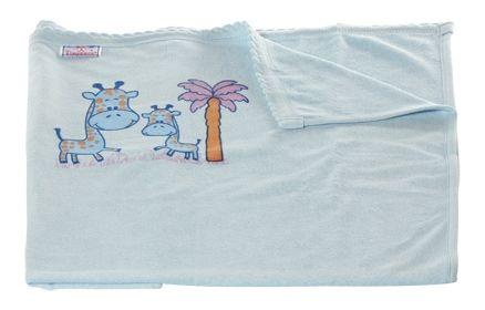 Tinycare Baby Towel - Giraffe Print