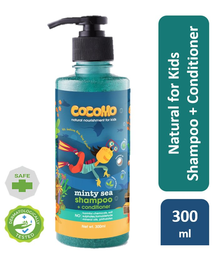 10%off Cocomo Minty Sea Shampoo Plus Conditioner - 300 ml