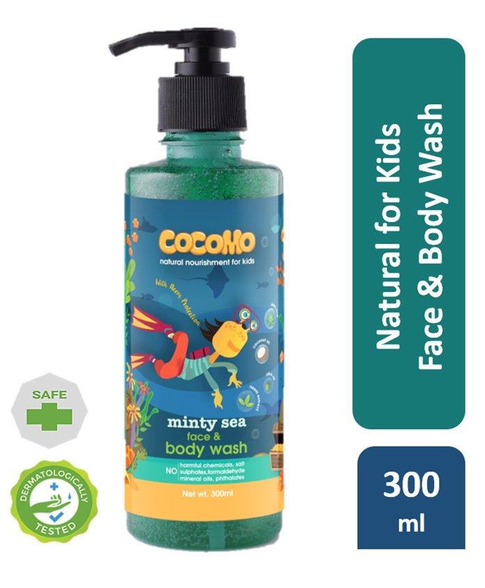 Cocomo Minty Sea Face & Body Wash - 300 ml