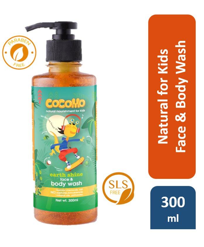 Cocomo Earth SHine Face & Body Wash - 300 ml