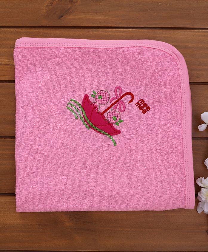 Mee Mee Soft Absorbent Baby Towel - Pink