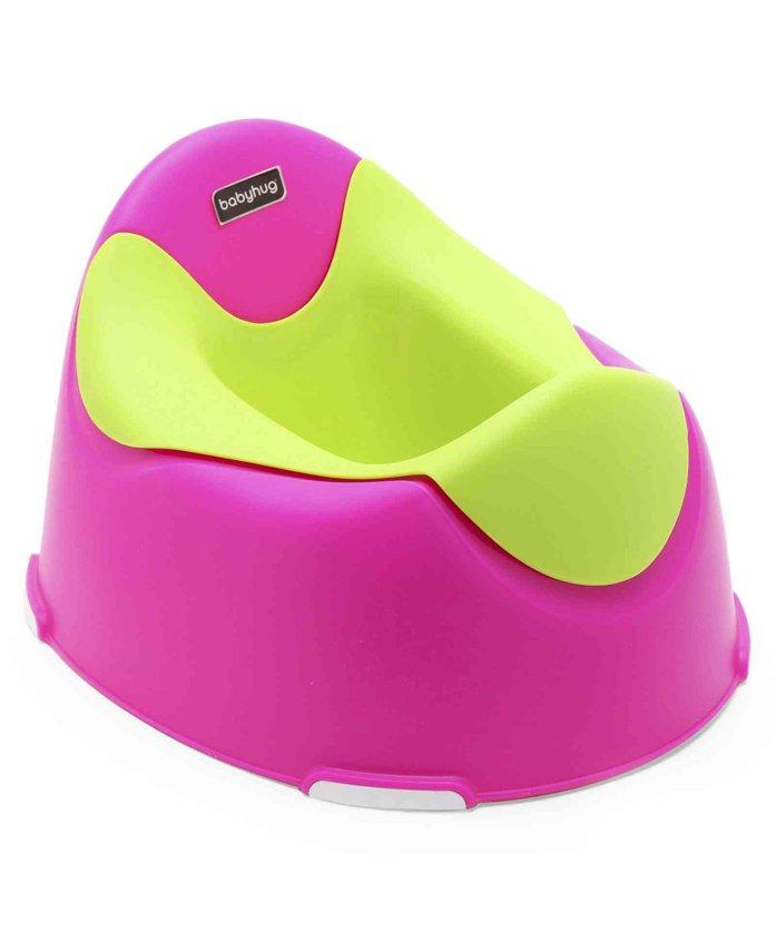Babyhug Winsome Potty Chair - Dark Pink
