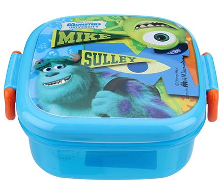 Disney - Monster Inc Blue Small Square Lunch Box