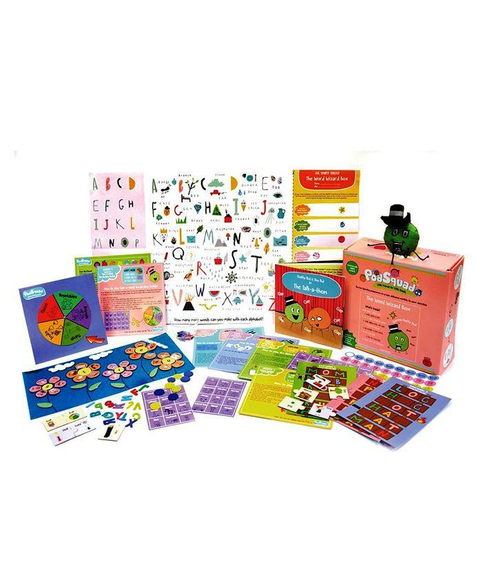 PodSquad The Word Wizard Box Board Game - Multicolor